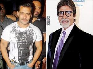 Salman Khan And Amitabh Bachchan Photo