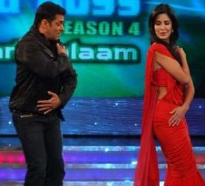 Salman Khan And Katrina Kaif Dancing Stills