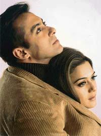 Salman Khan And Preity Zinta Photo