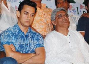 Aamir Khan and Javed Akhtar Photo