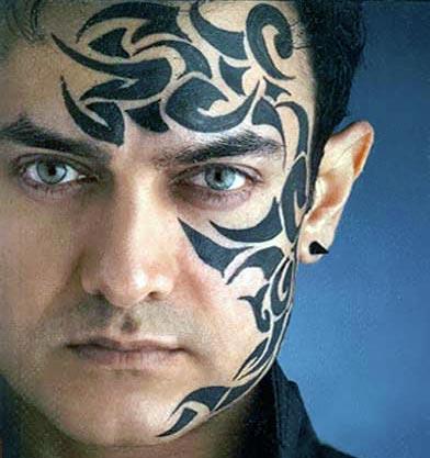 Aamir Khan Tattoo Hot Still