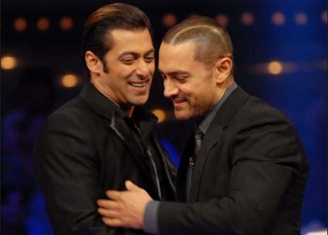 Salman and Aamir Khan In Dus Ka Dum