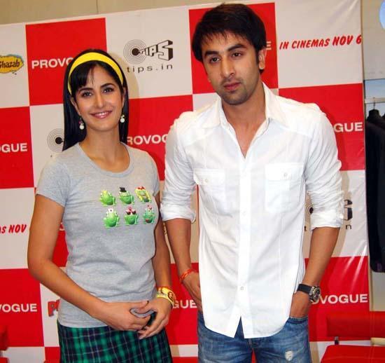 Katrina Kaif and Ranbir Kapoor Sweet Beauty photo