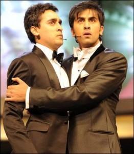 Ranbir and Imran Cute Still