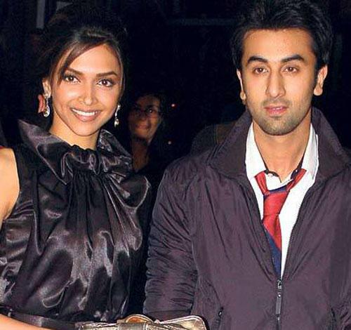 Ranbir Kapoor and Deepika Glamour Photo