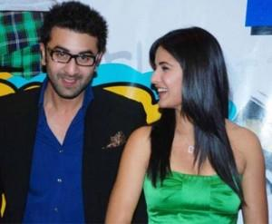 Ranbir Kapoor and Katrina Cute Smile Pic