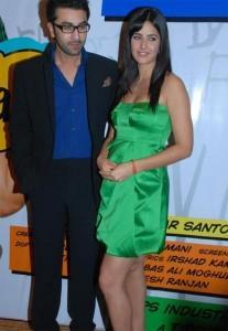 Ranbir Kapoor and Kats Poses To Photo Shoot