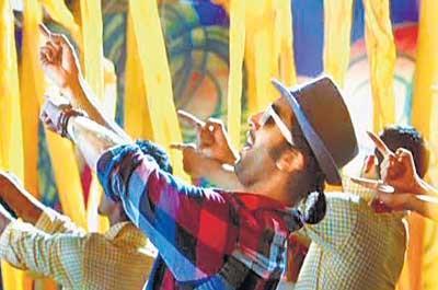 Ranbir Kapoor Dancing Still