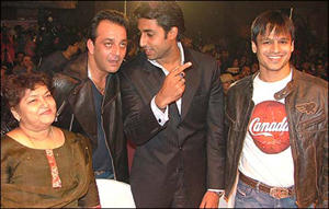 Abhi,Vivek Oberoi and Sanjay Dutt Images