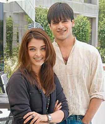 Vivek Oberoi and Aish Stunning pic