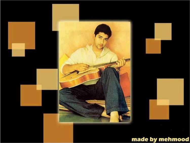 Aftab Shivdasani With A Guitar Photo