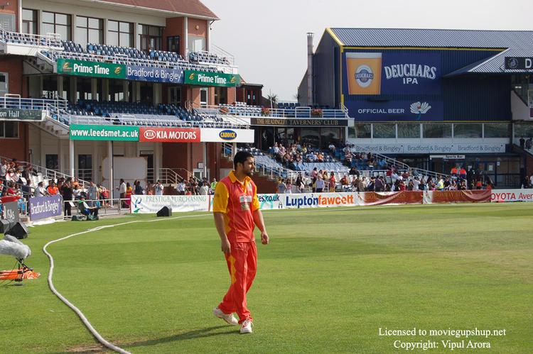 Aftab Shivdasani At IIFA Cricket Match