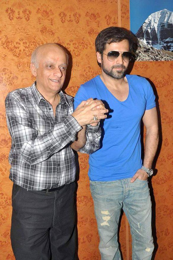 Mukesh Bhatt,Emraan Hashmi Promote Jannat 2 at Gaeity-Galaxy