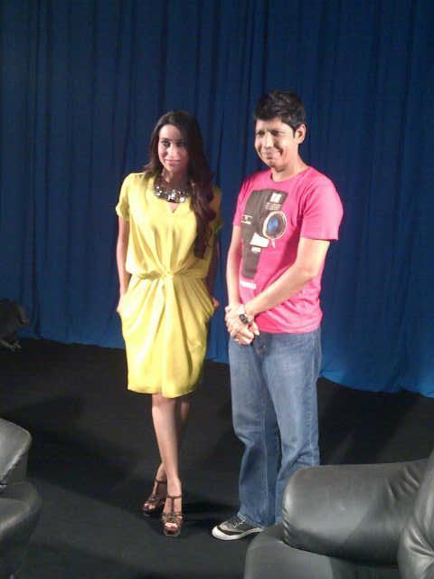 Karishma Kapoor Promotes Dangerous Ishq