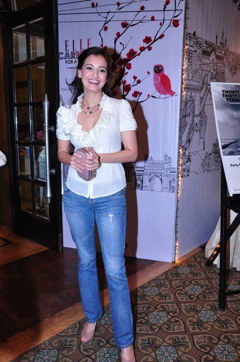 Dia Mirza at Elle Breast Cancer Carnival