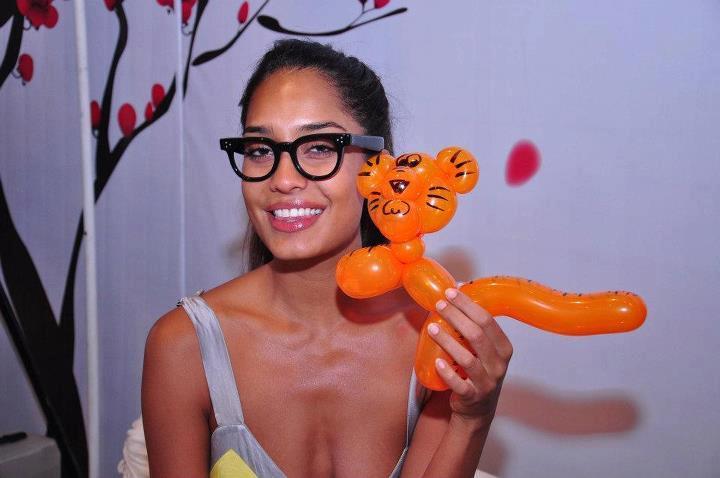 Lisa Haydon Cute Still at Elle Breast Cancer Carnival