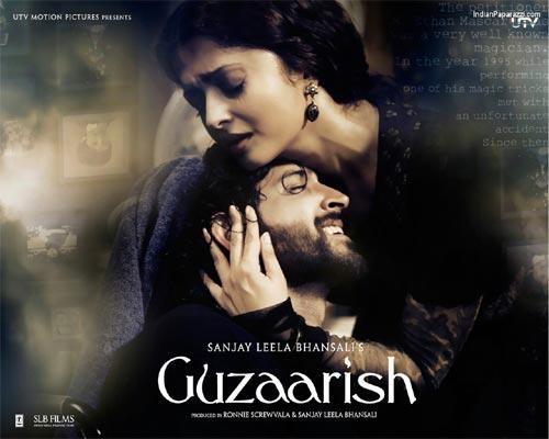 Hrithik Roshan and Aish In Guzzarish Wallpaper
