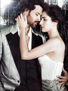 Hrithik Roshan and Katrina Romance Still