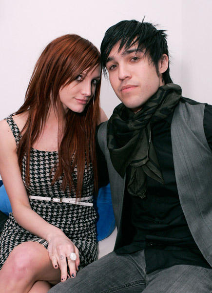 Ashlee Simpson And Pete Wentz Photo Shoot