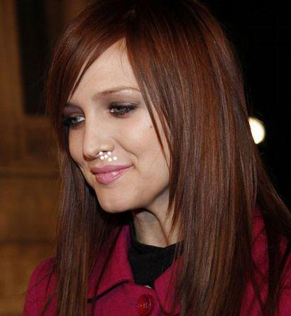 Ashlee Simpson Dazzling Face Look Photo