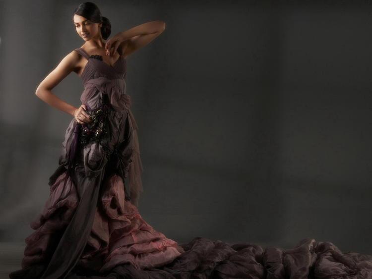 Deepika Padukone Dancing Pose In Amazing Gown