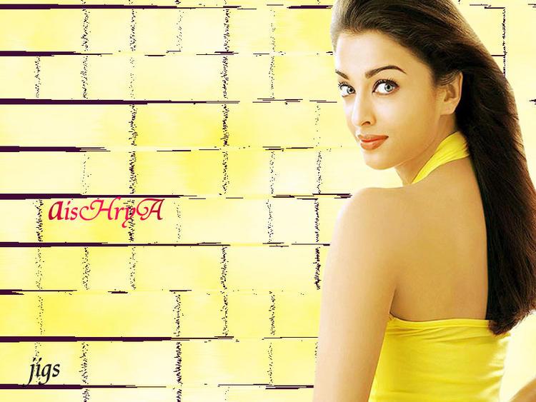 Pretty Bollywood Doll Aishwarya Rai Wallpaper