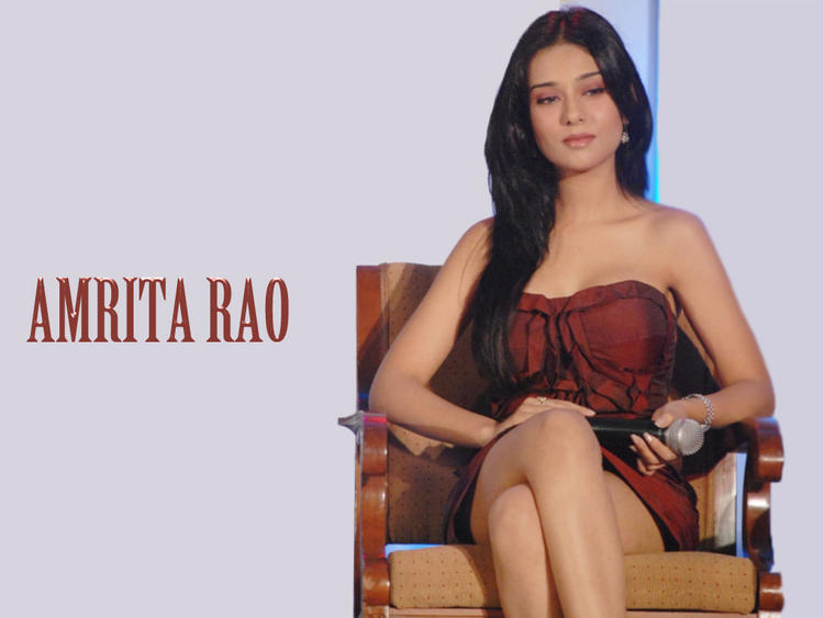 Amrita Rao Nice Look Wallpaper