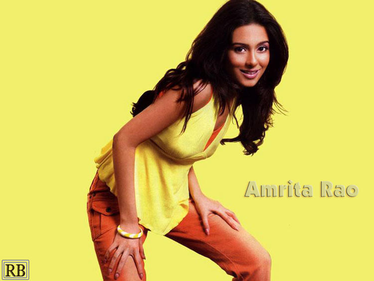Amrita Rao Rocking Wallpaper