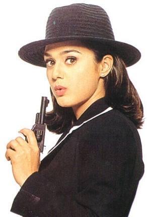 Preity Zinta Cute Killer Look Wallpaper