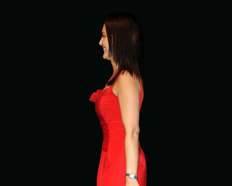 Preity Zinta Red Dress Sweet Wallpaper