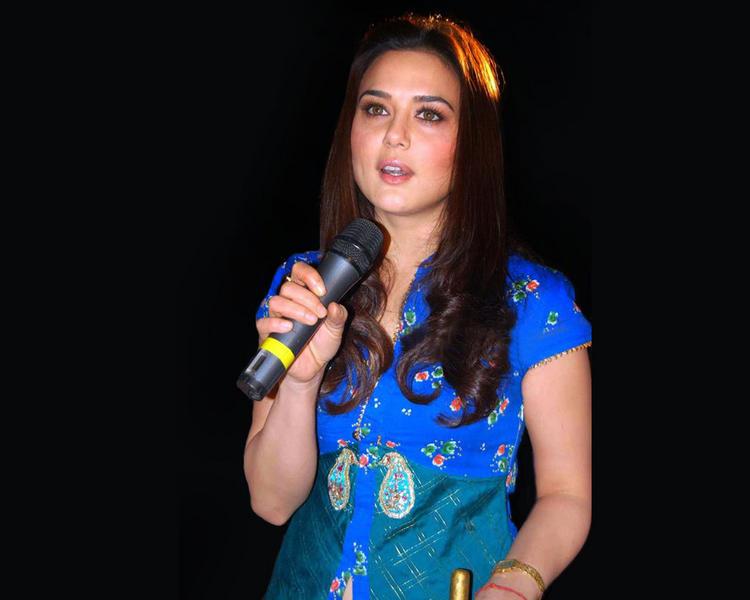 Preity Zinta Silky Hair Cute Still