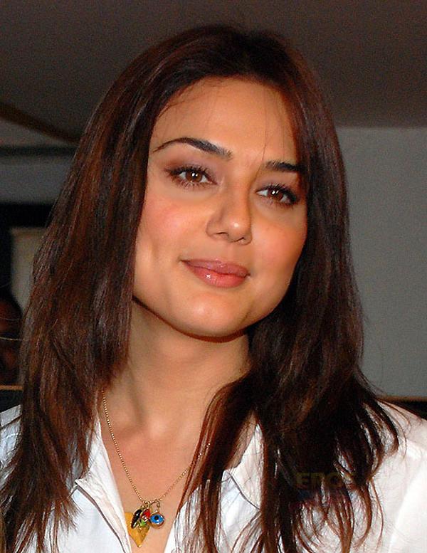 Preity Zinta Sweet Face Look Still
