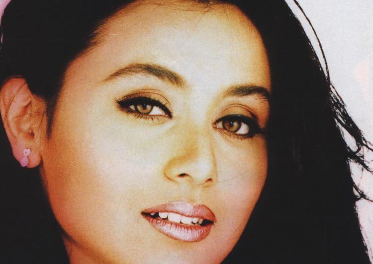 Rani Mukherjee Sexy Eyes and Wet Lips Still