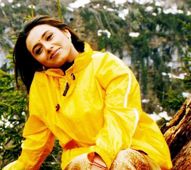 Rani Mukherjee Stunning Look Sweet Pic