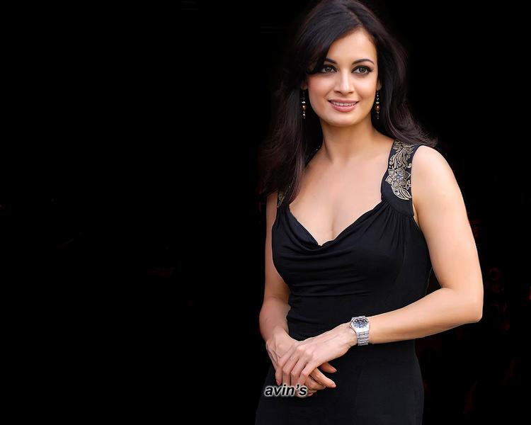 Diya Mirza Awesome Beauty Face Still