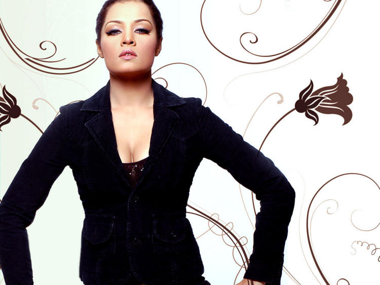 Celina Jaitley Black Blazer Hot Wallpaper