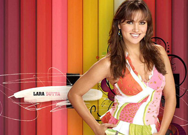 Lara Dutta Glorious Sweet Face Look Wallpaper