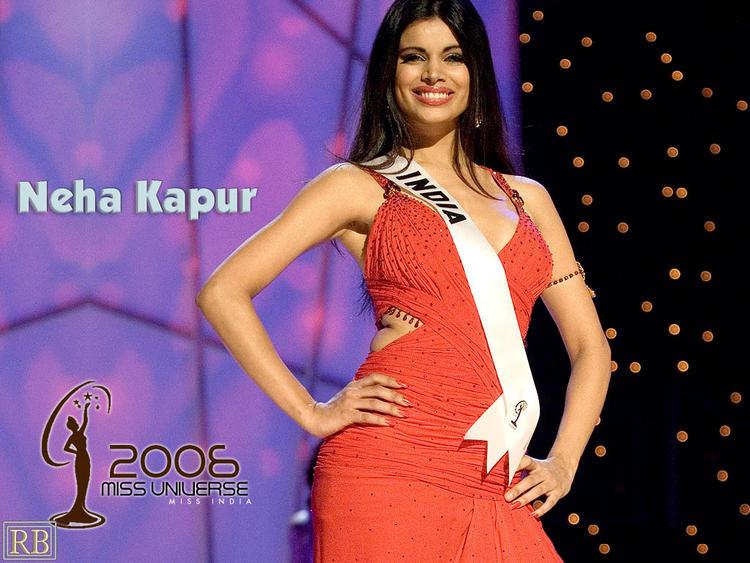 Former Femina Miss India Neha Kapur Wallpaper
