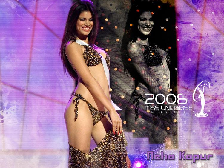 Neha Kapur Wet Bikini Still