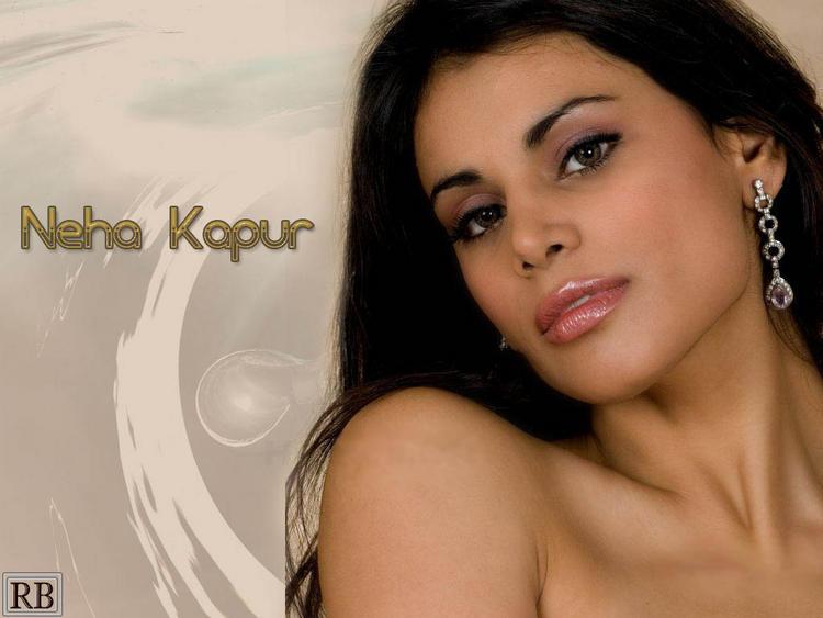 Neha Kapur Wet Face Look Wallpaper