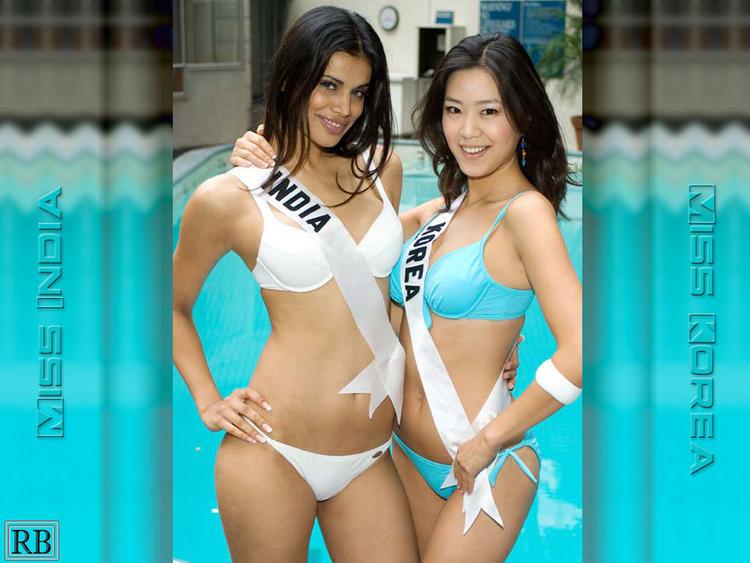 Neha Kapur White Bikini Hot Wallpaper