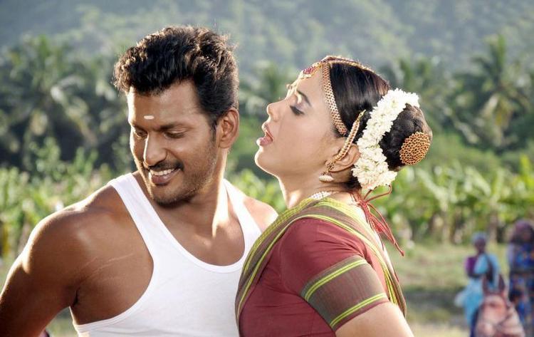 Sameera Reddy And Vishal Dancing Pics