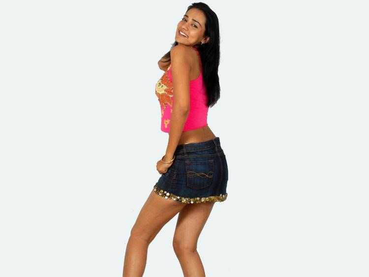 Neha Jhulka Sexy Pose Still In Mini Skirt
