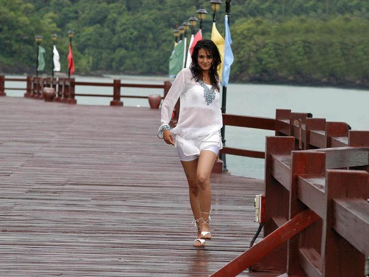 Neha Jhulka Transparent Dress Sexy Still