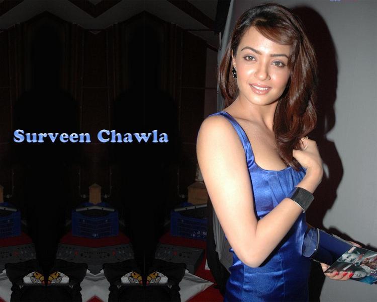 Surveen Chawla Dazzling Face Look Wallpaper