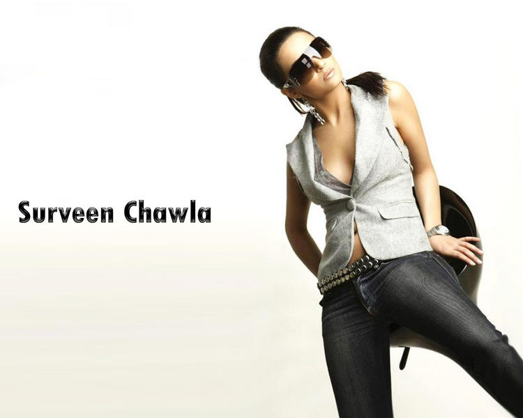Surveen Chawla Stylist And Sexy Wallpaper