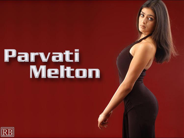 Parvathi Melton Black Dress Hot Wallpaper