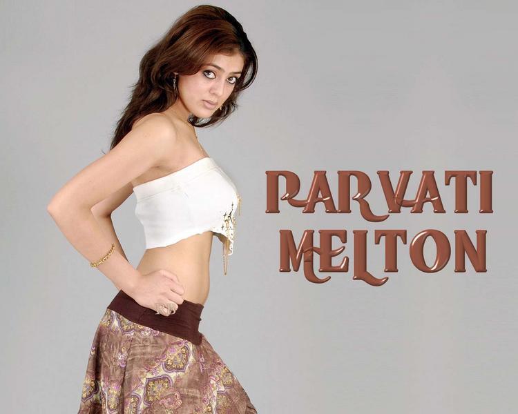Parvathi Melton Hot Look Wallpaper