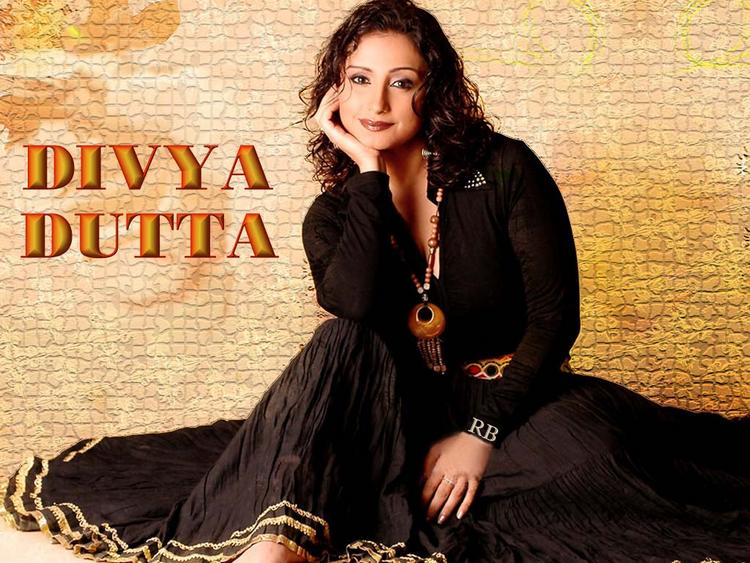 Divya Dutta Dazzling Face Look Wallpaper