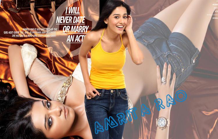Amrita Rao Cute Wallpaper